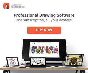 SketchBook professional drafting Software